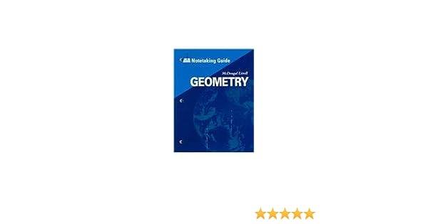 Amazon mcdougal littell high geometry notetaking guide amazon mcdougal littell high geometry notetaking guide student 9780618410231 mcdougal littel books fandeluxe Gallery