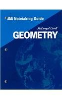 McDougal Littell High Geometry: Notetaking Guide (Student)
