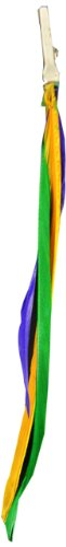 Designer Feathers 12773 Feather Hair Extension, Mardi Gras ()