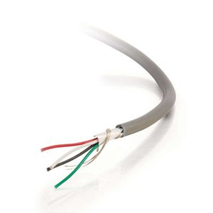 C2G/Cables to Go 1000FT 24 Awg 15-CONDUCTOR Foil Shield Pvc Stranded Bulk Cable ()
