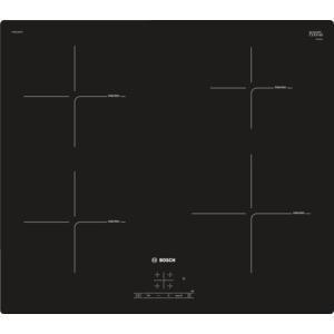 Bosch PUE611BF1B 59cm Frameless Four Zone Induction Hob Black