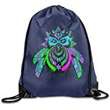 Price comparison product image AK79 Superb Bassnectar Owl Travelling Bag White