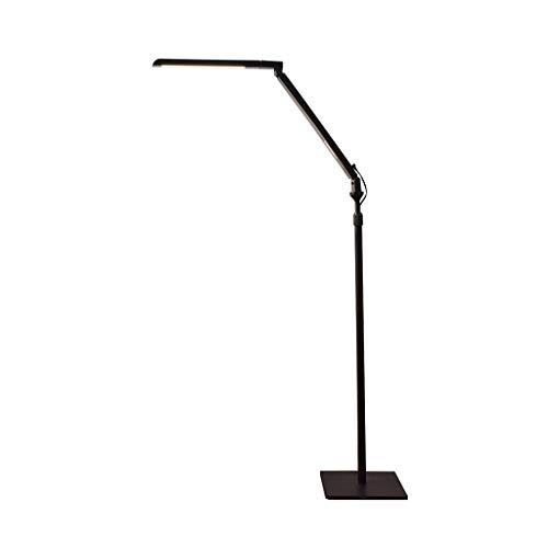 - AA Led Eye-Care Floor Lamp Living Room Bedroom Reading Vertical Luminaire Touch Dimming Standing Light