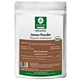 Naturevibe Botanicals USDA Organic Jamun Powder (8 Ounces) – Eugenia Jambolana – 100% Pure & Natural For Sale
