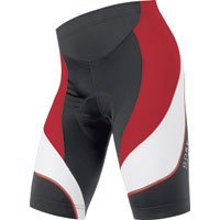 Gore Bike Wear Men's Power 2.0 Tights Short, Black/Red, Small Review