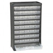 Storehouse 40 Bin Organizer with Full Length Drawer by Storehouse