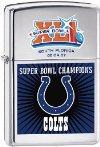 Zippo NFL Super Bowl XLI Colts Lighter 24215 ()
