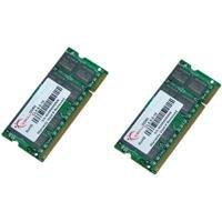 G.SKILL 2GB (2 x 1GB) DDR2 800 MHz PC2-6400 Dual Channel Kit 200-Pin Laptop Memory Model: F2-6400CL5D-2GBSA