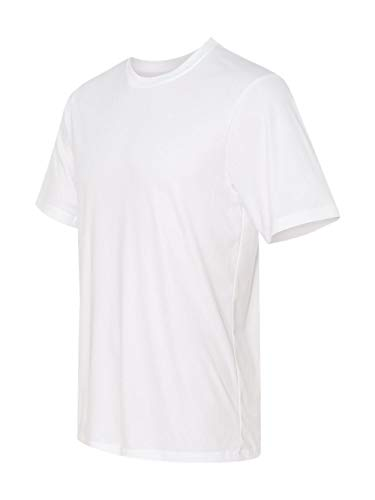 - Hanes Cool DRI TAGLESS Men's T-Shirt Short Sleeve T-Shirt, White (Large)