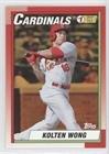 Kolten Wong #34/50 (Baseball Card) 2015 Topps Archives - 1990 Topps #1 Draft Picks - Gold #90DPI-KW