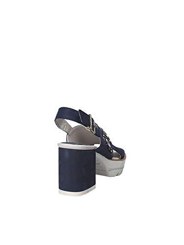 22600 Alto Donna Sandalo Blu Callaghan Scarpe Tacco nZOnXq