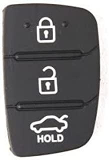 Keyzone Replacement Remote Keypad Red Yellow For Hyundai I20 3