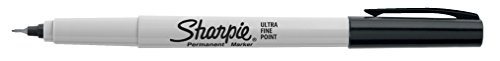Sharpie Permanent Markers, Ultra-Fine Point, Black, 24-Count by Sharpie (Image #2)