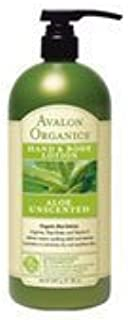 product image for Avalon Organics Hand & Body Lotion Aloe Unscented