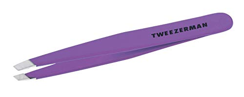 (TWEEZERMAN ZW-1230-BLP Slant Blooming Tweezer, Lilac)