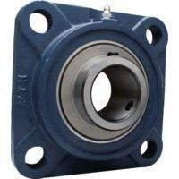 FYH 日本ピローブロック UCFS312C 印ろう付き角フランジ形ユニット 円筒穴・鋳鉄カバー付き(貫通形) UCFS312C