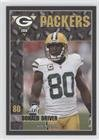 Donald Driver (Football Card) 2010 Green Bay Packers Police - [Base] #4