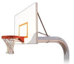 最初チームTyrant Impervia steel-aluminum in ground固定高さバスケットボールsystem44 ;マルーン B01HC0CNH8