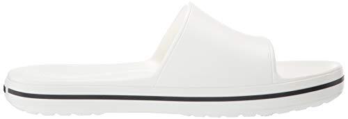 Iii Bout Mixte Adulte 103 Crocband black Sandales Slide white Crocs Ouvert Blanc Hqx5gw71p