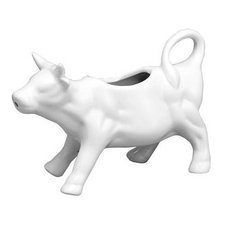 Harold Import Co. 82-234-HIC Cow Creamer Dish - Pitcher Creamer Cow