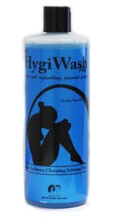 Super Feminine Wash by Hygi Wash, Super Intimate Cleansing Solution Plus For Her/Pour Elle Wash 16 oz (Pack of 2) from SF