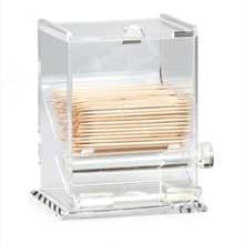 Acrylic Toothpick Dispenser -- 6 Count