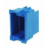 Carlon BH118R Outlet Box, Old Work, 1 Gang, 3-7/8-Inch Length by 2-3/8-Inch Width by 3-5/8-Inch Depth, Blue by Thomas & Betts