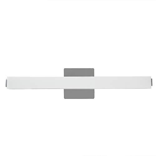 Ikakon LED Vanity Lights Acrylic Rectangle Bathroom Lighting Fixture ,White (24 Inch) by Ikakon