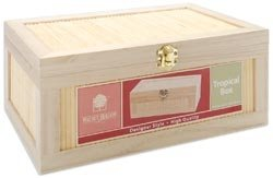 Bamboo & Paulownia Tropical Box - Large-4.72