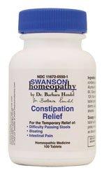 Constipation Relief 100 Tabs par homéopathie Swanson