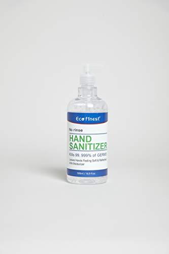 Antibacterial 75 Alcohol Hand Sanitizer Gel 500ml Uk Stock
