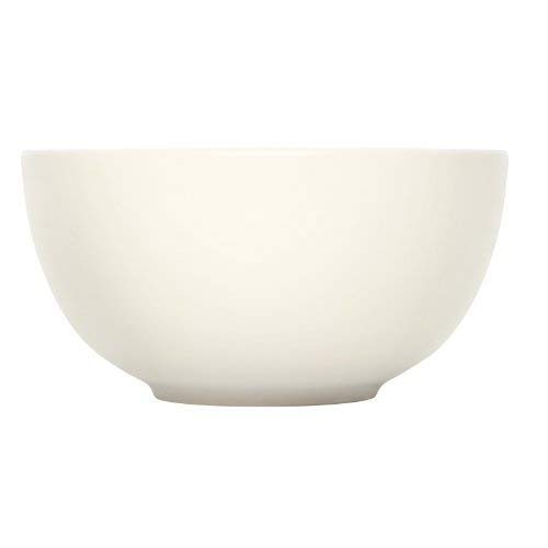 (iittala Teema Curved White Serving Bowl )