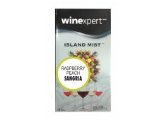 Island Mist Raspberry Peach Sangria 7.5 Liter Wine Making Kit