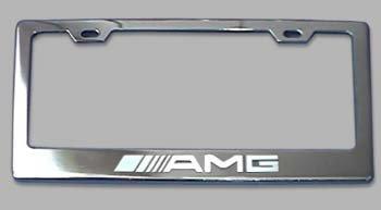 Mercedes-Benz AMG Chrome License Plate Frame