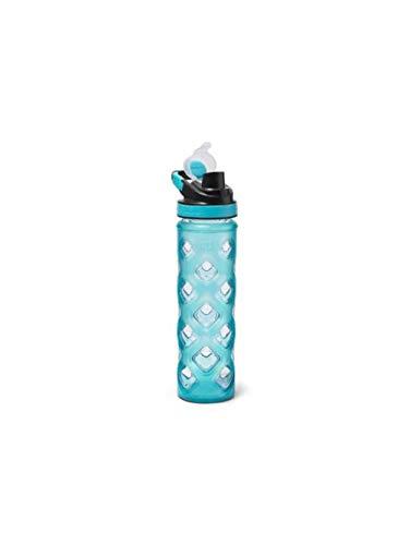 (Eddie Bauer Unisex-Adult Blocktagon Bottle - 22 oz, Turquoise Regular ONESZE)
