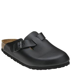 Birkenstock Men's BIRK-0060193 Boston Sandal, Black, 43 (10-10.5) by Birkenstock (Image #2)