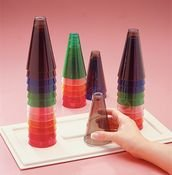 Rolyan 149801 Stacking Cones (Pack of 12)