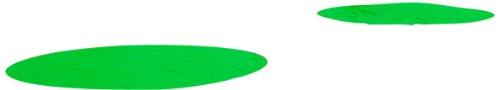 Baseball Field Tarps - Trigon Sports Spot Round Rain Covers, Poly Green, 18-Feet/6-Ounce