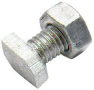Pack of 30 Old Version Bulk Hardware M6 x 12mm Aluminium Cropped Head Greenhouse Nuts and Bolts