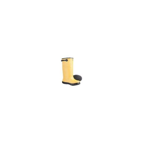 Yellow Slush Rubber Boots 17'', size -