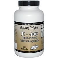 Healthy Origins 100% Natural Vitamin E-400 Mixed T…