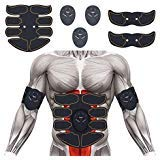 SPORTMAO Abs Stimulator Abdominal Trainer Ultimate Abs Stimulator Ab Stimulator for Men Women Work Out Ads Power Abs Training Gear Workout Equipment Portable Stimulator Abs Belt