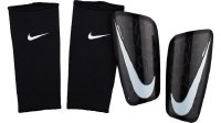 Nike Mercurial Lite Shin Guard (Black/Black/White, Medium)