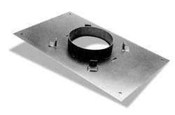 (DuraVent 9440B Transition Anchor Plate 17'' x 17'',)