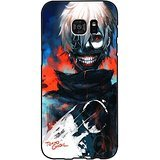 Samsung Galaxy S7 Edge Case Shell,Special Kaneki Ken Style Youth Comic Tokyo Ghoul Phone Case Cover for Samsung Galaxy S7 Edge Cartoon Classical