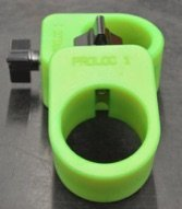 Proloc 1 - Standard Olympic Barbell Collars (Neon Green)