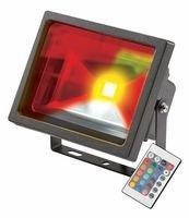 MLA fle20rgbkb Flutlicht Strahler Fluter Scheinwerfer IP65230V 20W LED RGB