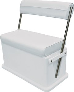 Wise Livewell-Baitwell Cooler Seat, Cuddy Brite White primary