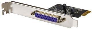 StarTech.com Parallel DB-25 PCI Express Schnittstellenkarte - SPP/EPP/ECP - Dual Profile DB25 PCIe Karte