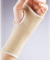 Florida Orthopedics Elastic Pullover Wristlet, Beige - Medium - Center Florida Outlet